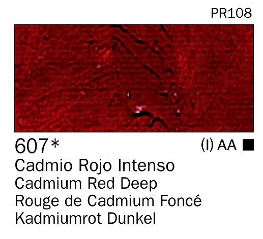 Venta pintura online: Acrilico Rojo cadmio intenso nº607