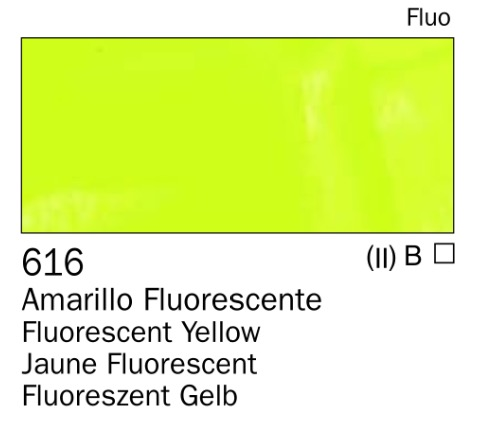Venta pintura online: Acrilico Amarillo fluorescente nº616