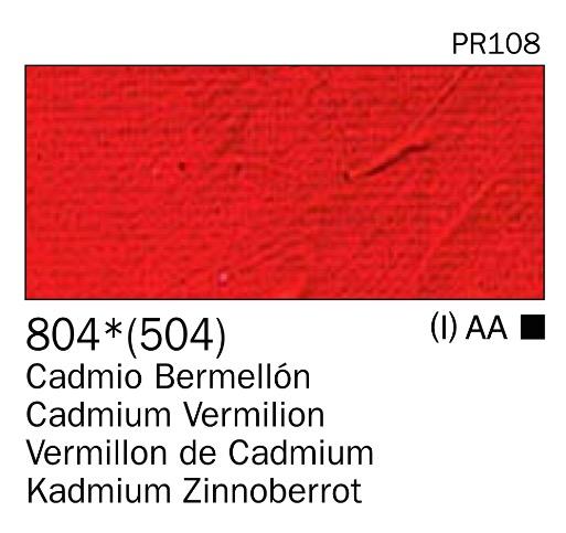 Venta pintura online: Acrilico bermellón cadmio nº804