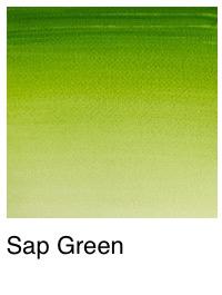 Venta pintura online: Acuarela verde vejiga