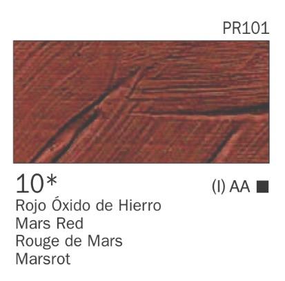 Venta pintura online: Acrílico Rojo óxido de hierro nº10