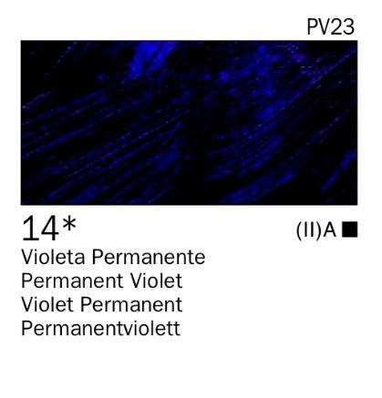 Venta pintura online: Acrílico Violeta permanente nº14