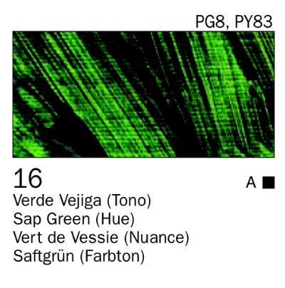 Venta pintura online: Acrílico Verde vejiga (tono) nº16