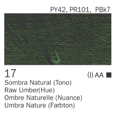 Venta pintura online: Acrílico Sombra natural nº17