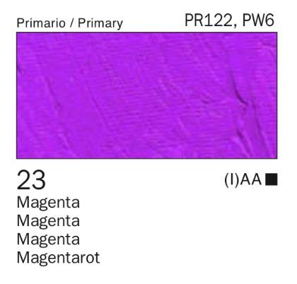 Venta pintura online: Acrílico Magenta nº23