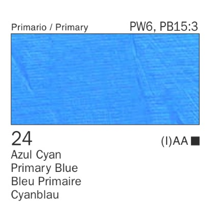 Venta pintura online: Acrílico Azul cyan nº24