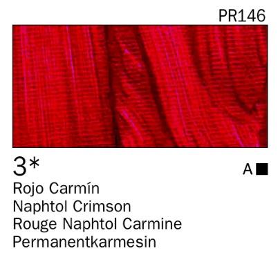 Venta pintura online: Acrílico Rojo carmín nº3