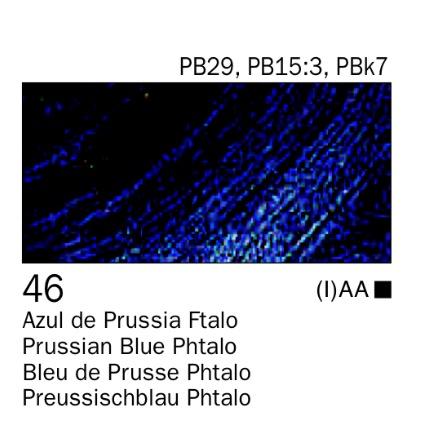 Venta pintura online: Acrílico Azul de prusia Ftalo nº46