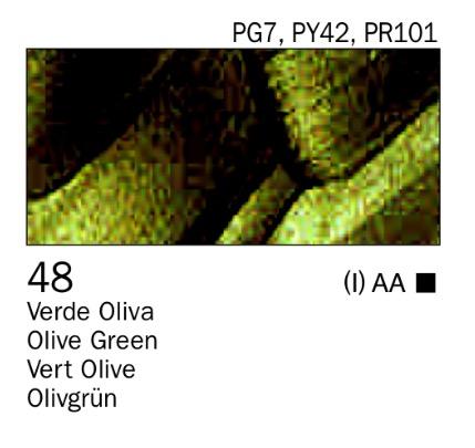 Venta pintura online: Acrílico Verde oliva nº48