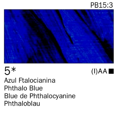 Venta pintura online: Acrílico Azul Ftalocianina nº5