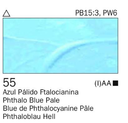Venta pintura online: Acrílico Azul palido ftalocianina nº55