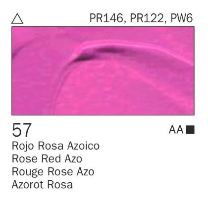 Venta pintura online: Acrílico Rojo rosa azoico nº57