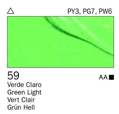 Venta pintura online: Acrílico Verde claro nº59