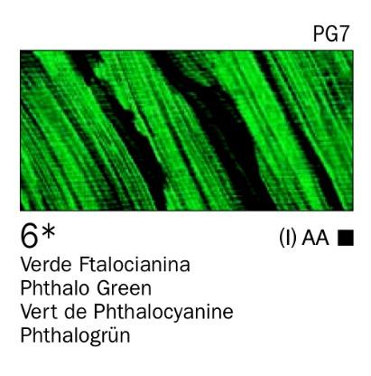 Venta pintura online: Acrílico Verde Ftalocianina nº6