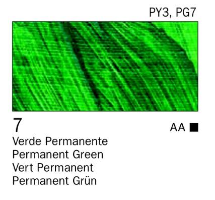 Venta pintura online: Acrílico Verde permanente nº7