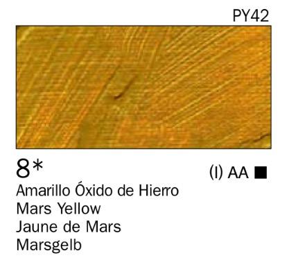 Venta pintura online: Acrílico Amarillo óxido de hierro nº8