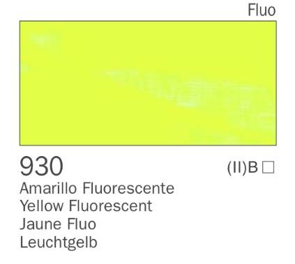 Venta pintura online: Acrílico Amarillo Fluorescente nº930