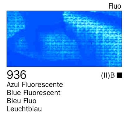 Venta pintura online: Acrílico Azul fluorescente nº936